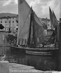 lovran_1913 Louvre, Author, Boat, Island, Painting, Travel, Pictures, Croatia, Block Island