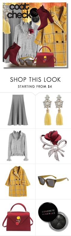 """""""Go Bold: Statement Coats"""" by pesanjsp ❤ liked on Polyvore featuring Concrete Minerals and modern"""