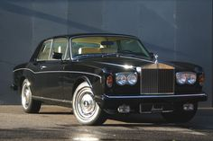 The Rolls-Royce Corniche was produced as the two door coupé and a two door convertible versions from 1971 to 1995.
