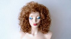 River Song Cosplay wig.  Golden blonde / Dirty blonde by kekeshop