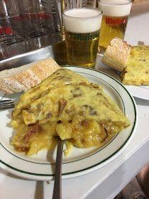 Ruta Martuka: La Tortilla De Patatas Sublime De Casa Dani (Madrid) French Toast, Spain, Meals, Chicken, Breakfast, Omelettes, Iglesias, Koh Tao, Food