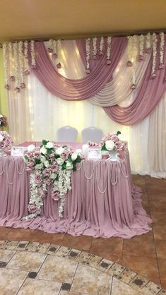 All Details You Need to Know About Home Decoration - Modern Head Table Wedding, Wedding Scene, Wedding Chairs, Wedding Ceremony, Wedding Church, Party Wedding, Wedding Bride, Wedding Events, Weddings