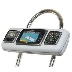 """NavPod GP2604 SystemPod Pre-Cut f/Raymarine e7/e7D & 2 Instruments f/12"""""""" Wide Guard"""