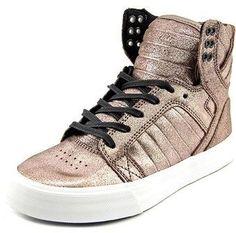 d867991c17 Supra Skytop Round Toe Leather Sneakers. Tênis De Couro
