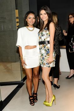 Kat Graham and Victoria Justice