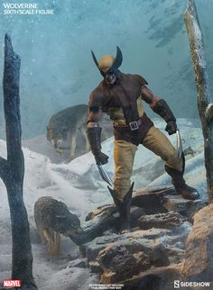 The Wolverine Sixth Scale Figure is now available at Sideshow.com for fans of Marvel's X-men and Logan.
