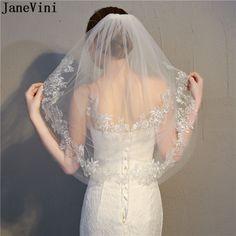 "Wedding Veil Shoulder 3Tier 20/"" 22/"" 24/"" Length Sheer Pink Champagne Organza Edge"