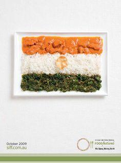 Sydney International Food Festival India Flag