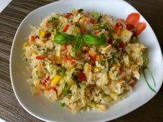 Surówka z kiszonej kapusty - Blog z apetytem Grains, Rice, Cooking Recipes, Kitchen, Blog, Gardening, Food And Drinks, Salads, Cucina