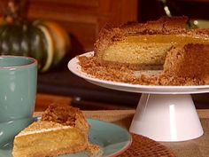 Hazelnut Pumpkin Pie Recipe : Sunny Anderson : Food Network