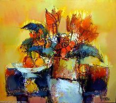 Artwork >> Sergey Yatnov >> flowers 2 Artworks, Flowers, Painting, Painting Art, Paintings, Royal Icing Flowers, Painted Canvas, Flower, Florals