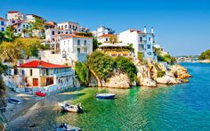 Skiathos - Aegean Idyll - Travel Moments In Time - travel itineraries, travel guides, travel tips and recommendations Greece Itinerary, Greece Travel, Places To Travel, Places To Visit, Yacht Week, Greece Holiday, Cheap Holiday, Greece Islands, Health Lessons