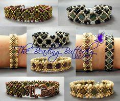 Claddagh Reversible Tila & Peanut Bracelet | The Beading Butterfly