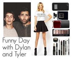 """""""Funny Day with Dylan and Tyler"""" by xdr-bieberx ❤ liked on Polyvore featuring ASOS, MICHAEL Michael Kors, Lord & Berry, NARS Cosmetics and TeenWolf"""