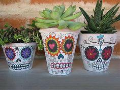 10 DIY Painted Planter Ideas
