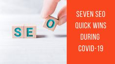 COVID-19 has hit businesses hard, especially as the quarantine or sheltering in place has extended from days into months for Continue reading The post Seven SEO Quick Wins During COVID-19 appeared first on The Crowdfire blog.