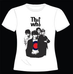 """The Who R$ 35,00 + frete Todas as cores Personalizamos e estampamos a sua ideia: imagem, frase ou logo preferido. Arte final. Telas sob encomenda. Estampas de/em camisas masculinas e femininas (e outros materiais). Fornecemos as camisas ou estampamos a sua própria. Envie a sua ideia ou escolha uma das """"nossas"""".... Blog: http://knupsilk.blogspot.com.br/ Pagina facebook: https://www.facebook.com/pages/KnupSilk-EstampariaSerigrafia/827832813899935?pnref=lhc https://twitter.com/KnupSilk"""