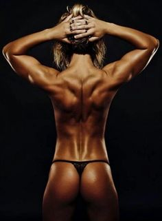 This woman is fit! Oh yes one day