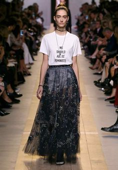 We should all be feminists. Dior spring/summer 2017.