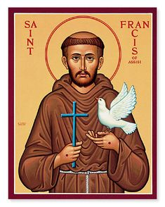 St Francis of Assisi | Who do you consider to be your heroes? These can be real-life or ...