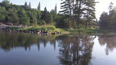 amble du fond river algonquin provincial park