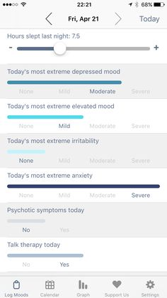 eMoods Bipolar Mood Tracker  Track your mood and other symptoms effortlessly in seconds