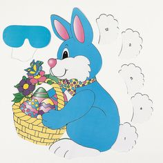 """""""Pin The Tail On The Bunny"""" Game - OrientalTrading.com Currently $4 (3/5/13)"""