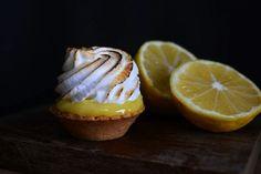 Dark food photography, lemon pie