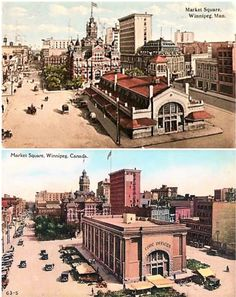 Market Square in 1912 (above), and Way to renovate the soul and character out of Market Hall, guys. City Hall was demolished in and the Market in 65th Birthday, Old Photos, Big Ben, Nostalgia, Scenery, The Past, Canada, Mansions, Guys