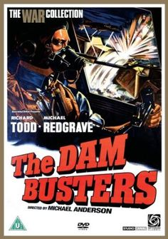 """17th May 2013: 70th anniversary of the Dambusters. The classic film """"The Dam Busters"""" starring Richard Todd and Michael Redgrave. Available on DVD from Devon Libraries, including a special anniversary edition. The Dam Busters March composed by Eric Coates for the film is also available on CD or piano score."""