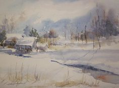 Snowfields Print By Sandra Strohschein