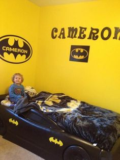 superhero bedroom ideas batman