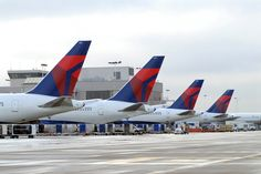 Mid-Continent is served by 5 major airlines -Delta Airlines #fly #travel #ICT