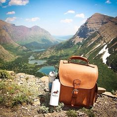 Hiking at Glacier National Park. | Squared Backpack | 100 Year Warranty | $582.00