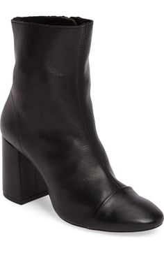 Topshop Happy Days Cap Toe Bootie (Women) available at #Nordstrom