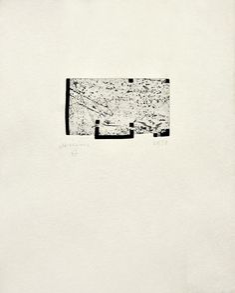 Eduardo Chillida - Itsasoratu I from Radierung 3 1998