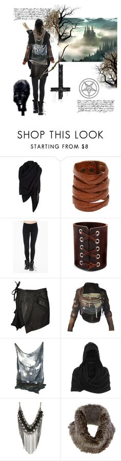 """The old voice"" by a4n0ih3 ❤ liked on Polyvore featuring AllSaints, Motif 56, Haider Ackermann, Bullet, Gestuz, Theyskens' Theory and Tim Holtz"