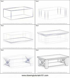 How to draw a coffee table printable step by step drawing sheet com 3 wonderful cool ideas furniture drawing layout antique furniture painting home furniture stores home furniture stores street furniture metal homefurniturestore Drawing Interior, Interior Design Sketches, Drawing Furniture, Furniture Design, Modular Furniture, Furniture Storage, Table Sketch, Drawing Sheet, 3d Modelle