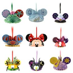 who wouldnt love a disney christmas tree mickey ears ornaments are our favorites - Disney Christmas Ornaments