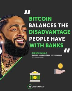  Happy Birthday, Nipsey Hussle! 🎂 🎁  It was Nispey Hussle's Birthday days yesterday and although he was best-known for rapping he was also ahead of the game when it came to crypto, having followed Bitcoin since 2013. Blockchain, Rapper, Writer, Things To Come, Happy Birthday, Posts, Education, Game, Happy Brithday