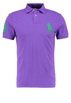 Polo Ralph Lauren SLIM FIT Poloshirt cabana purple Premium bei Zalando.de | Material Oberstoff: 100% Baumwolle | Premium jetzt versandkostenfrei bei Zalando.de bestellen!