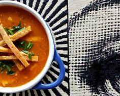 zuppa piccante di tempeh