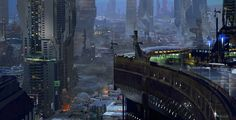 Halo Conceptual Art | Halo 4 Concept Art by A.J. Trahan