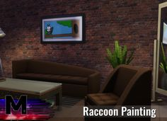 "mattyshadysims brings you the love of the Raccoon painting.  This object will bring a little joy to your room or walls or whatever. Found in paintings or by searching ""raccoon"" in the search.Download"