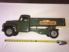 1950-039-s-Buddy-L-Army-Transport-Truck-Pressed-Steel