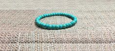 6mm Blue Aquamarine Turquoise Gemstones Strech Tibetan Bracelet, Healing Chakra Mala Yoga Lucky Scorpio Sagittarius Aquarius Pisces Bracelet de ArtGemStones en Etsy