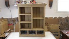 Técnicas para muebles de cartón: cómo forrar un mueble con papel Kraft - Santiago y sus Ideas | Manualidades