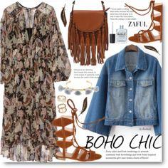 Coachella - Pretty Boho Plus-Size Style