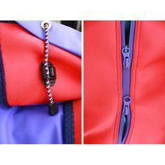 is-ness asymmetrical jacket 8