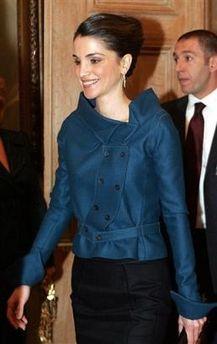 2005,Athens, wearing Roland Mouret jacket